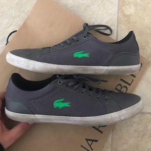 Lacoste men's gray sneakers